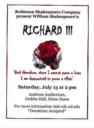 RCLC Richard III