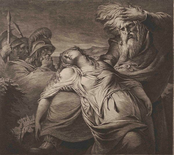 James Barry, King Lear and Cordelia, 1776/1791