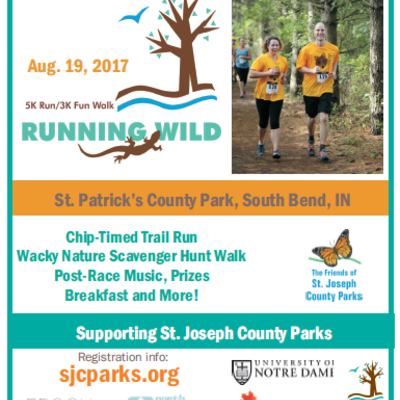 Running Wild at St. Patrick's County Park