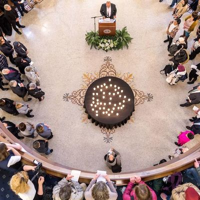 Unity at the heart of prayer service for mosque shooting victims