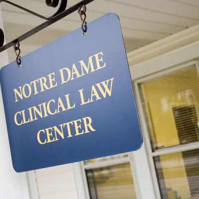Amid coronavirus challenges, ND Law's Tax Clinic safely serves community